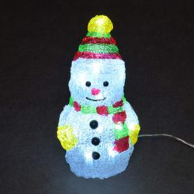Фигурка Balance «Снеговик», 10 см, цвет белый