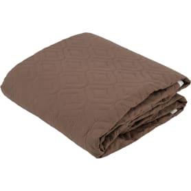 Покрывало «Melissa», 200х220 см, микрофибра, цвет коричневый/бузина