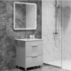 Керамогранит Softmarble 30x60 см 1.08 м² цвет белый