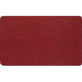 Коврик Флорт «Офис», 49x80 см, полипропилен, цвет красный