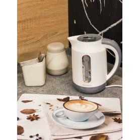Чайник электрический Energy, 1.7 л, цвет белый