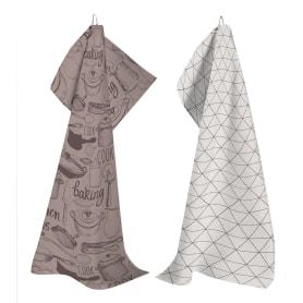 Набор кухонных полотенец «Капучино» 47x61 см, 2 шт.