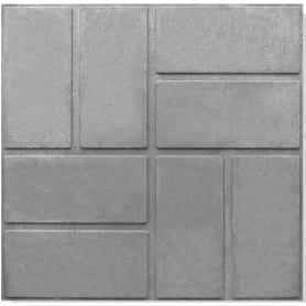 Плитка тротуарная 330x330x20 мм цвет серый