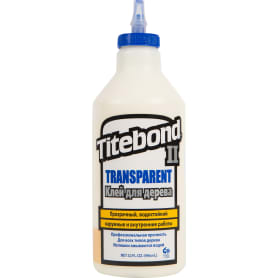 Клей столярный Titebond II влагостойкий прозрачный 946 мл