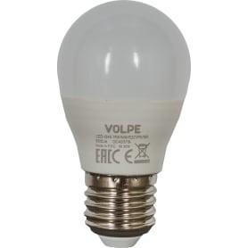 Лампа светодиодная Volpe Norma E27 220 В 11 Вт шар 900 лм, белый свет