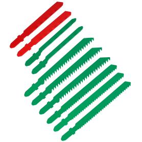 Набор пилок по дереву и металлу T, 10 шт., универсальный рез