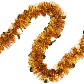 Гирлянда «Шарики», 90 см, цвет бронза