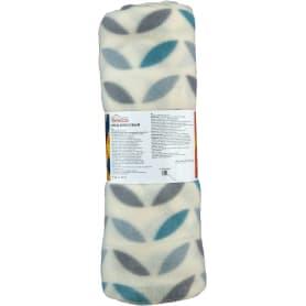 Плед «Scandi», 130х170 см, флис, цвет бирюзовый