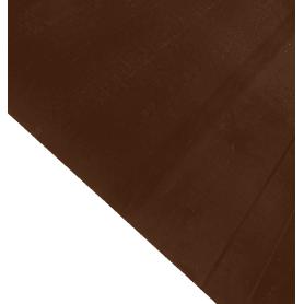 Лист гладкий 0.35 мм 2000х1250 мм RAL 8017 коричневый