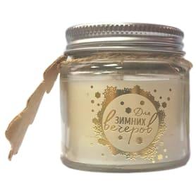 Свеча в стакане ароматизированная 6.5 см