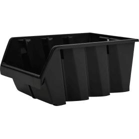 Лоток Volf 21.5х33х15.5 см, пластик, цвет чёрный