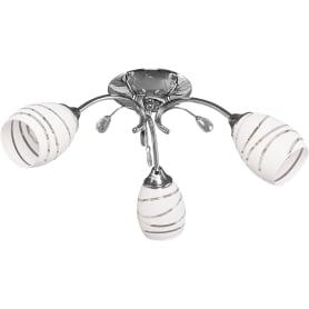 Люстра потолочная Escada Diana 1113, 3 лампы, 9 м², цвет хром
