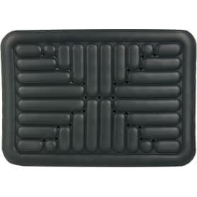 Коврик для ванной комнаты противоскользящий 52х72 см цвет тёмно-серый