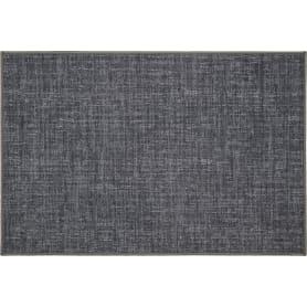 Коврик «Адриана», 80x120 см, нейлон, цвет серый