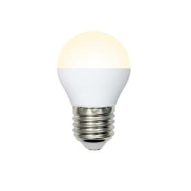 Лампа светодиодная Volpe Norma E27 220 В 7 Вт шар 600 лм тёплый белый свет