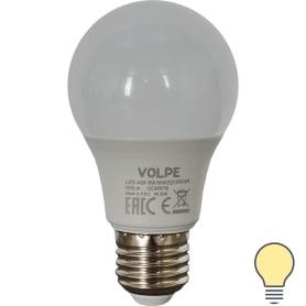 Лампа светодиодная Volpe Norma E27 220 В 11 Вт груша 900 лм, тёплый белый свет