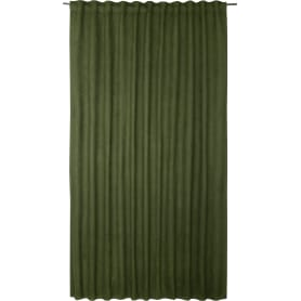 Штора на ленте Манчестер Forest, 200x280 см, однотон, цвет тёмно-зелёный