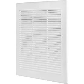 Решётка вентиляционная, 300х300 мм, цвет белый