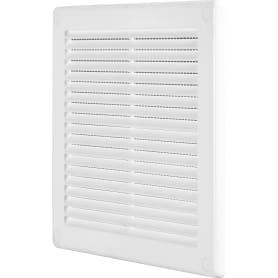 Решётка вентиляционная, 200х200 мм, цвет белый