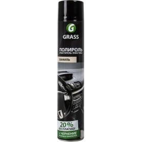 Полироль очиститель пластика Grass Dashboard Cleaner, 0.75 л, аромат ванили