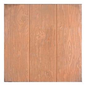 Плитка тротуарная «Три доски», 300х300х30 мм, цвет коричневый