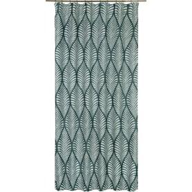 Штора на ленте «Мадагаскар», 160х260 см, геометрия, цвет оливковый