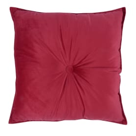 Подушка «Бархат», 45х45 см, цвет красный