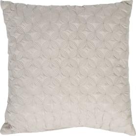 Подушка, 43х43 см, цвет бежевый