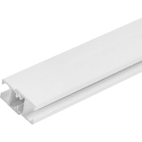 Карниз шинный однорядный Atlant Mini, 240 см, алюминий, цвет белый