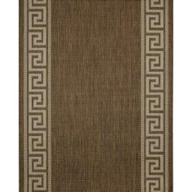 Дорожка ковровая «Дели» 80107-50122, 1 м, цвет бежевый
