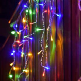 Электрогирлянда светодиодная «Бахрома» для улицы 72 лампы 3 м, цвет мультиколор