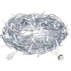 Электрогирлянда светодиодная «Занавес» для улицы 96 ламп 1.2 м, цвет холодный белый