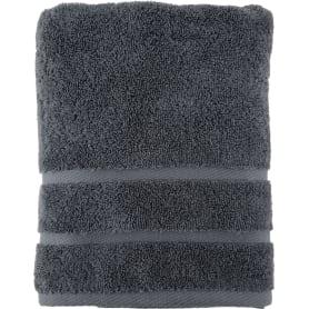 Полотенце махровое 50x90 см цвет серый