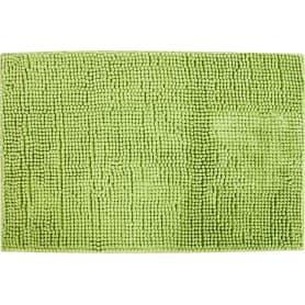 Коврик для ванной комнаты Merci 45х70 см цвет зелёный