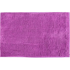 Коврик для ванной комнаты Merci 45х70 см цвет светло-фиолетовый