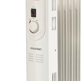 Обогреватель масляный Monlan MS-10 с механическим термостатом, 1000 Вт, 5 секций