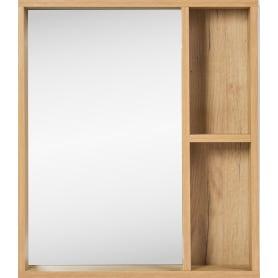 Зеркало «Лофт» с полкой 60x70 см