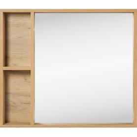 Зеркало «Лофт» с полкой 80x70 см