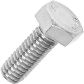 Болт М6x16 мм DIN 933, нержавеющая сталь, 8 шт.