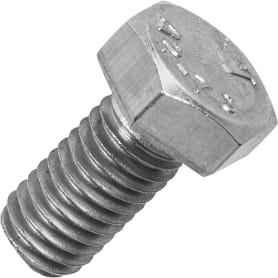 Болт М8x16 мм DIN 933, нержавеющая сталь, 6 шт.