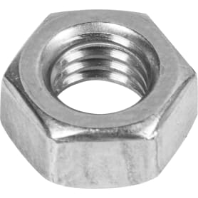 Гайка шестигранная М8, DIN 934, нержавеющая сталь, 15 шт.