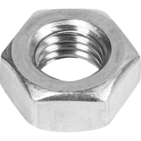 Гайка шестигранная М10, DIN 934, нержавеющая сталь, 5 шт.