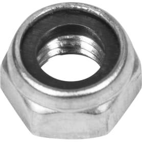 Гайка самоконтрящаяся М6, DIN 985, нержавеющая сталь, 10 шт.