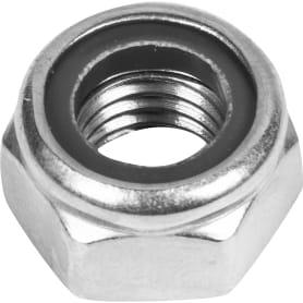 Гайка самоконтрящаяся М12, DIN 985, нержавеющая сталь, 2 шт.