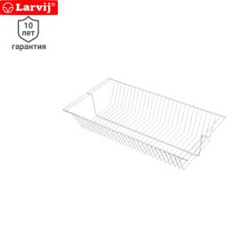 Корзина сетчатая Larvij 118х306х603 мм цвет белый