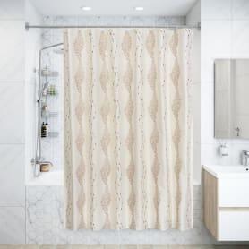 Штора для ванны Chiko 180x200 см, полиэстер, цвет бежевый