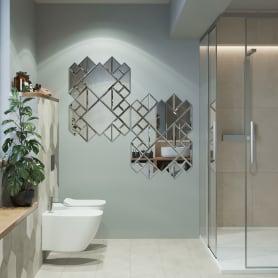 Плитка зеркальная Mirox 3G квадратная 10x10 см