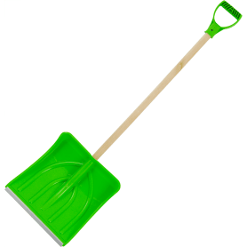 Лопата для уборки снега 38.5x38 см пластик