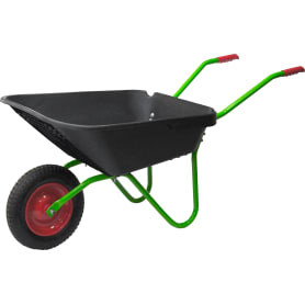 Тачка садовая одноколесная 100 кг/90 л