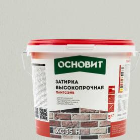 Затирка цементная Основит Плитсейв 5 кг цвет белый